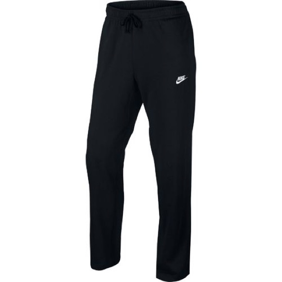 best online sneakers for cheap presenting Nike Mens Large Black Club Oh Swoosh Sweatpants L